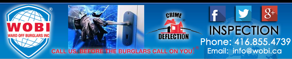 Call on us before the burglars call on you